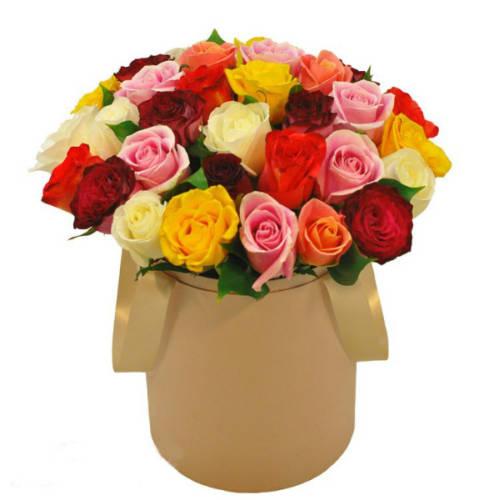 Цветы с макарони 55